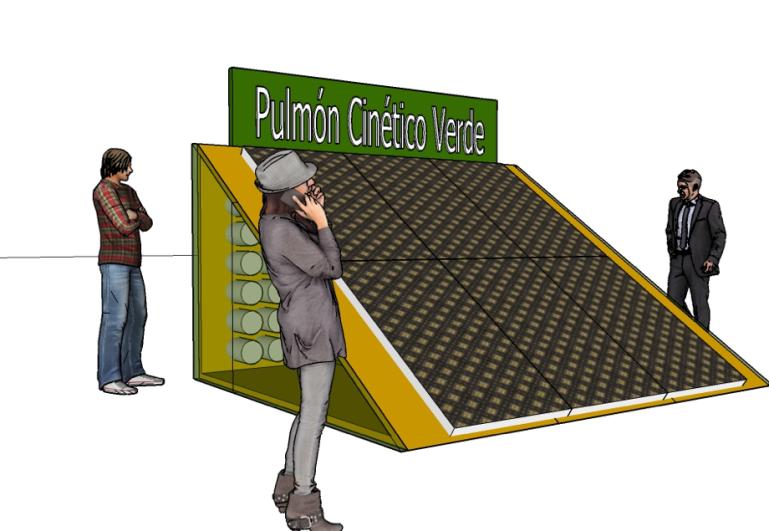 Pulmon Cinetico Verde